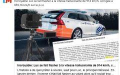 Autovelox, Belgio: multato perché andava alla velocità di 914 orari, manco fosse un jet