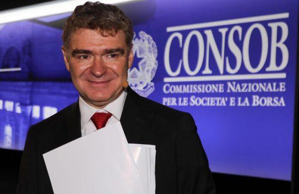 Consob, si è dimesso il presidente Nava