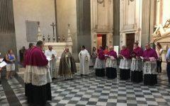 Firenze: l'antico uffizio della Porrea rinnovato come ogni anno nella Basilica di San Lorenzo