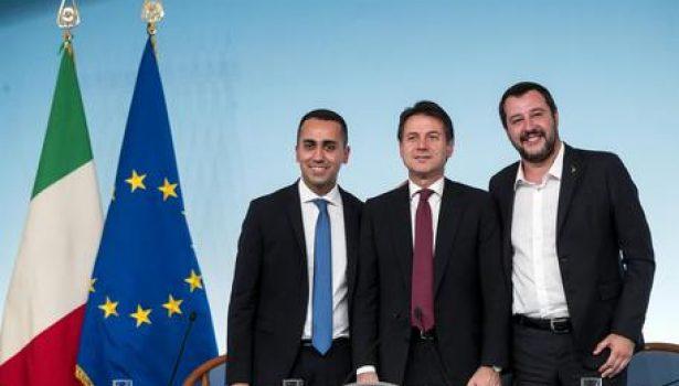 Roma: cena delle tagliatelle, pace fatta fra Salvini e Di Maio, ha offerto Conte