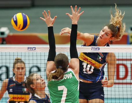 Mondiali Volley: è dura per l'Italia, successo con la Cina a 2,05