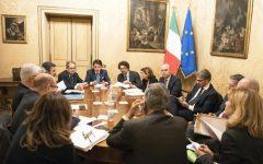 Manovra: riunione a Palazzo Chigi, ma senza la Lega