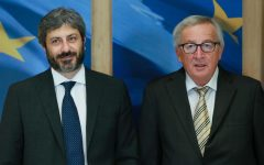 Bruxelles: cordiale intesa fra Juncker e Fico, che tenta di ricucire i rapporti con la Ue