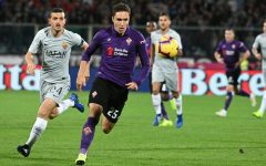 Fiorentina spreca: e la Roma pareggia (1-1). Emergenza in attacco: c'è solo Chiesa. Pagelle