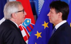 Manovra: Conte anticipa in Parlamento la risposta che darà alla Ue e a Juncker