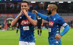 L'Empoli s'illude con Caputo, poi viene travolto dal Napoli: 5-1. Andreazzoli salta? Pagelle
