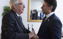 Manovra: Conte tenta disgelo con Juncker e la Commissione Ue