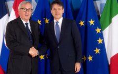 Manovra: il problema serio è quota 100 per le pensioni, lo ha detto Juncker a Conte
