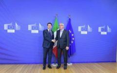 Manovra: incontro Conte - Juncker, buoni progressi dell'Italia
