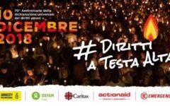 Firenze: #diritti a testa alta, il 10 fiaccolata per i diritti umani