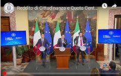 Consiglio dei Ministri: via libera a reddito di cittadinanza e quota 100. Le misure previste