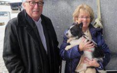 Ue: Juncker adotta un cane abbandonato, in previsione del pensionamento