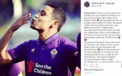 Chievo-Fiorentina (domenica ore 12,30 diretta su Dazn): messaggio di Muriel ai tifosi. Formazioni