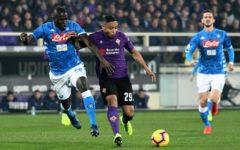 Fiorentina: 0-0 con il Napoli. Pezzella, infortunato, all'ala sinistra. Grande Lafont. Pagelle