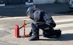 Livorno: allarme falso pacco bomba in Piazza Roma, indagini della Polizia