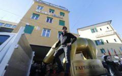 Festival di Sanremo 2019: tapiro d'oro di Striscia a Teresa De Santis (Rai)