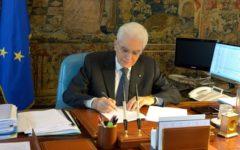 Legittima difesa: Mattarella promulga la legge. «Che non attenua il ruolo dello Stato». Lettera a Conte, alla Casellati e a Fico