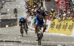 Siena, strade bianche: vince il francese Julien Alaphilippe