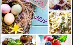 Pranzo di Pasqua 2019: tagliatelle ai carciofi e gorgonzola e polpette d'agnello