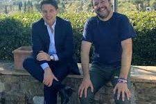Firenze: Conte e Salvini incontro in villa (vicino a casa Verdini)