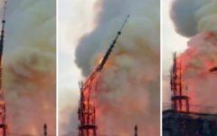 Notre-Dame: crolla la guglia simbolo di Parigi. Salva la facciata. Inchiesta per disastro colposo. Macron: «La ricostruiremo» (Foto)