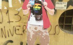 Pisa: artista ritrae il sindaco Conti in bermuda. E chiede di non cancellare il murales