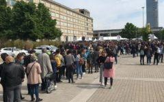Torino: Salone del libro, code infinite, nello stand della Toscana arriva Leonardo da Vinci