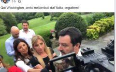 Salvini sbarca in America e attacca la Ue