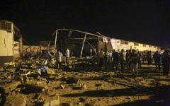 Tripoli: bombardato centro detenzione migranti, 40 morti