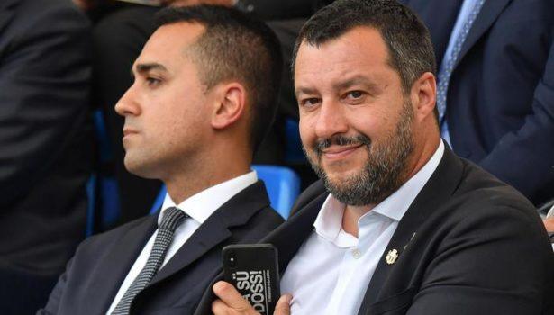 Salvini accusa: M5S e Pd al governo da due giorni in Europa. In vista crisi, ma Di Maio smentisce